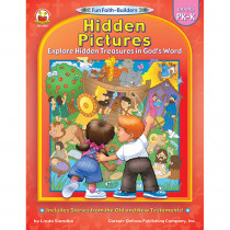 CD-2025 - Hidden Pictures Gr Pk-K Book in Inspirational