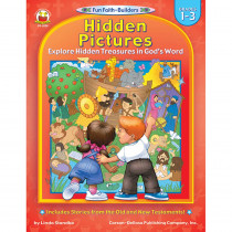CD-2026 - Hidden Pictures Gr 1-3 Book in Inspirational