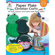 CD-204062 - Paper Plate Christian Crafts Gr K-3 in Inspirational