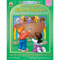 CD-2040 - Dot-To-Dot Bible Pictures Gr Pk-K in Inspirational