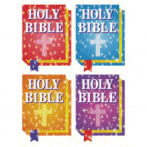 CD-2148 - Dazzle Stickers Bibles 120/Pk Acid Lignin Free in Inspirational