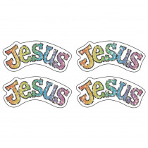 CD-2154 - Dazzle Stickers Jesus in Inspirational