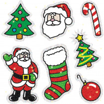 CD-2905 - Dazzle Stickers Christmas 105-Pk Acid & Lignin Free in Holiday/seasonal