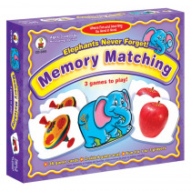 CD-3110 - Game Elephants Never Forget Ages 3 & Up Memory Matching in Games