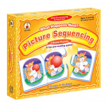 CD-3115 - Game What Happens Next Sequencing Ages 3& Up Picture in Games
