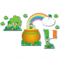 CD-3263 - Bulletin Board Set St. Patricks Day in Holiday/seasonal
