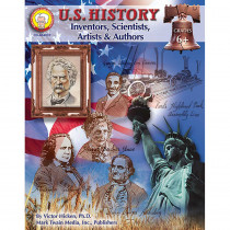 CD-404037 - Us History Inventors Scientists Artists & Authors Gr 6 & in History