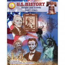 CD-404039 - Us History People & Events 1607- 1865 Gr 6 & Up in History