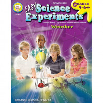 CD-404047 - Easy Science Experiments Weather in Experiments