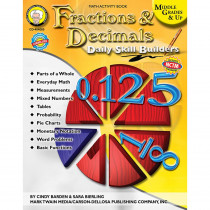 CD-404085 - Daily Skills Builders Series Fractions & Decimals in Fractions & Decimals