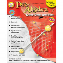 CD-404086 - Daily Skills Builders Series Pre-Algebra in Algebra
