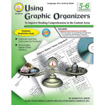 CD-404112 - Using Graphic Organizers Book Gr 5-6 in Graphic Organizers