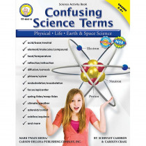CD-404114 - Confusing Science Terms Book Gr 5-8 in Activity Books & Kits