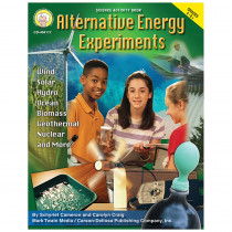 CD-404117 - Alternative Energy Experiments Gr 5-8 in Energy