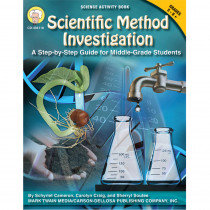 CD-404118 - Scientific Method Investigations A Step By Step Guide For Gr 5-8 in Activity Books & Kits