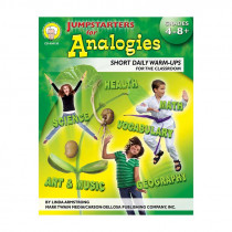 CD-404130 - Jumpstarters For Analogies Gr 4-8 in Books