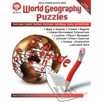 CD-404133 - World Geography Puzzles in Geography