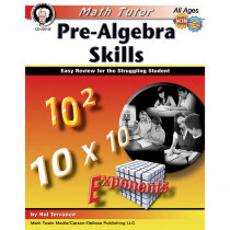CD-404145 - Math Tutor Pre Algebra in Algebra