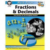 CD-404146 - Math Tutor Fractions And Decimals in Fractions & Decimals