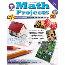 CD-404155 - Math Projects Gr 5-8 in Activity Books