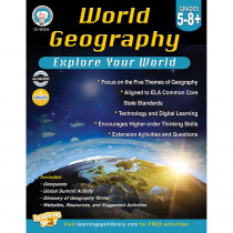 CD-404236 - World Geography Gr 5-8 in Geography