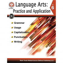 CD-404243 - Language Arts Gr 6 Practice And Application in Activities