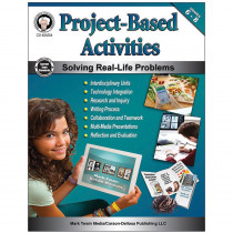 CD-404254 - Project Based Activity Book Gr 6-8 in Activities