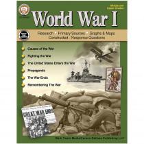 CD-404267 - World War I Middle Upper Grade Book in History