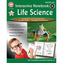 CD-405009 - Interactive Life Science Notebooks in Activity Books & Kits
