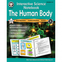 CD-405030 - The Human Body Workbook Interactive Science Notebook in Activity Books & Kits