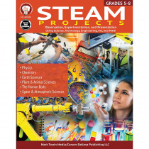 CD-405032 - Steam Projects Workbook in Classroom Activities