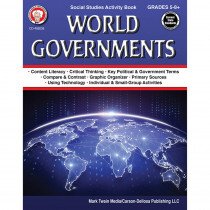 CD-405035 - World Governments Workbook in Government