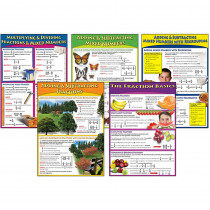 CD-410026 - Bulletin Board Set Mastering Fractions in Math