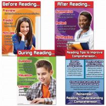 CD-410074 - Reading Comprehension Bulletin Board Set in Language Arts
