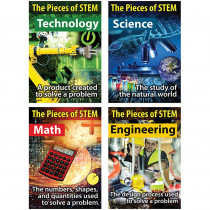 CD-410097 - Stem Bulletin Board Set Grades 5-8 in Science