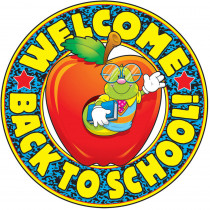 CD-4161 - Welcome Back To School in Two Sided Decorations