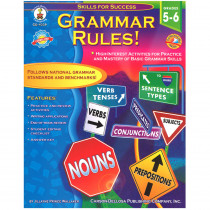 CD-4339 - Grammar Rules Gr 5-6 Basic Grammar Skills in Grammar Skills