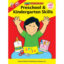 CD-4510 - Home Workbook Pk & Kinder Skills Gr Pk-1 in Skill Builders