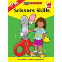 CD-4511 - Home Workbook Scissors Skills Gr Pk-1 in Skill Builders