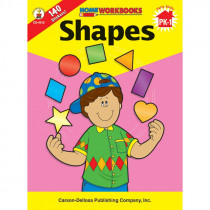 CD-4512 - Shapes Home Workbook in Skill Builders