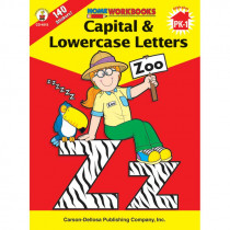 CD-4515 - Home Workbook Capital & Lowercase Gr Pk-1 Lowercase Letters in Letter Recognition