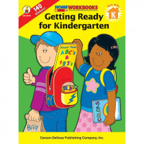 CD-4519 - Home Workbook Getting Ready For Kindergarten in Skill Builders
