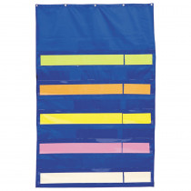 CD-5634 - Pocket Chart Original Plus Blue 34 X 52 in Pocket Charts