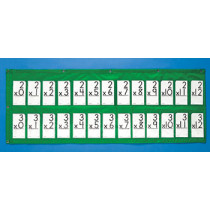 CD-5645 - Pocket Chart Flash Card 48 X 19 in Pocket Charts