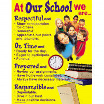 CD-5937 - Chartlet Character At Our School in Motivational