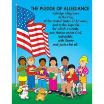 CD-6111 - Chartlet The Pledge Of Allegiance 17 X 22 in Social Studies