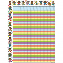 CD-6268 - Chartlet Incentive Kid-Drawn Kids 17 X 22 in Incentive Charts