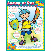 CD-6362 - Armor Of God For Kids in Inspirational