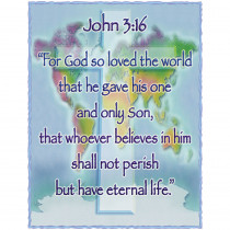 CD-6366 - John 3 16 in Inspirational