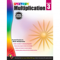 CD-704507 - Spectrum Gr3 Multiplication Workbk in Multiplication & Division